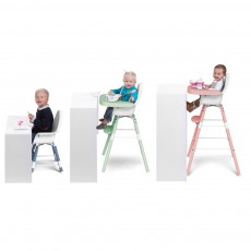 Childwood Evolu Transforming High Chair - White/Powder-listing
