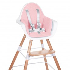 Childwood Assise chaise haute évolutive - Rose poudré-listing