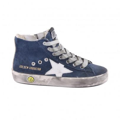 Golden Goose Sneaker Suede Zip Francy-listing