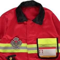 Melissa & Doug Disfraz de bombero-listing