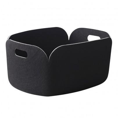 Muuto Panier de rangement - Noir-listing
