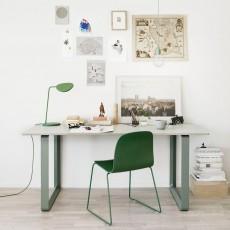 Muuto Lampe à poser Leaf - Vert-listing