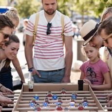 Smallable Toys Cardboard Table Football-product
