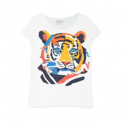 G.KERO Funky Tiger T-shirt-listing