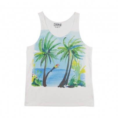 G.KERO Seas Side Parrots Palm Tree Top-listing
