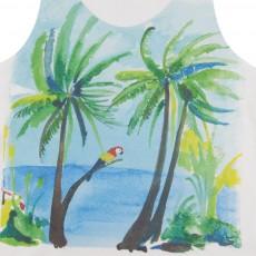 G.KERO Top Palmen und Papagei Sea Side-listing