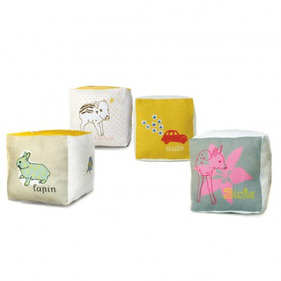 MIMI'lou Cotton cube with bell-listing
