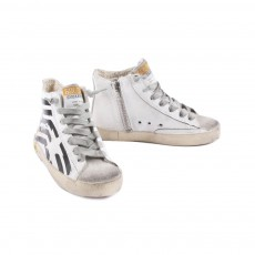 Golden Goose Leather Zip Francy trainers-listing