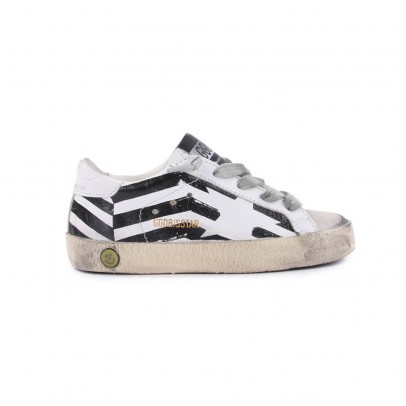 Golden Goose Flag Superstar leather trainers-product