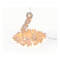 Tse & Tse Kubistische Girlande LED Weiß-listing