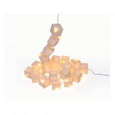 Tse & Tse White LED Cubist Garland-listing