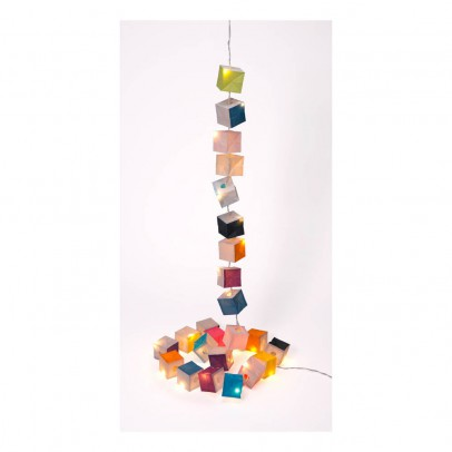 Tse & Tse Kubistische Girlande LED Bunt -listing