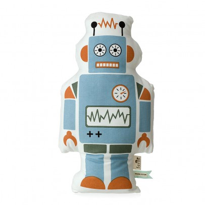 Ferm Living Mr Large Robot Cushion-listing