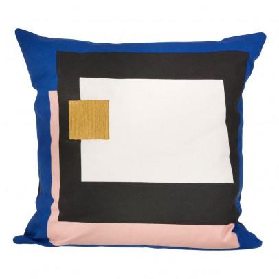 Ferm Living Coussin Fragment - Bleu - 50x50 cm-product