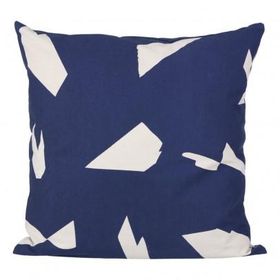 Ferm Living Coussin Cut - Bleu - 50x50 cm-listing