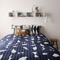Ferm Living Decke Cut-Blau - 235x245 cm-listing