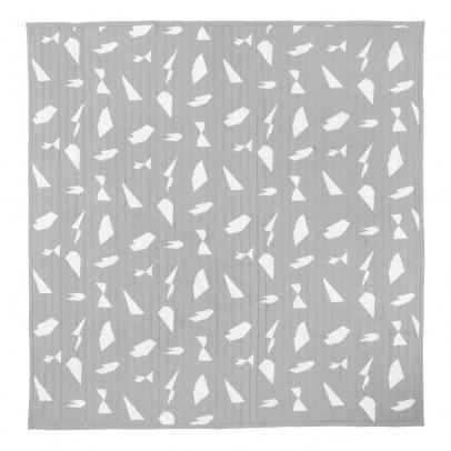 Ferm Living Manta Cut - Gris - 235x245 cm-product