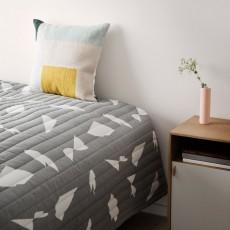 Ferm Living Couverture Cut - Gris - 235x245 cm-product