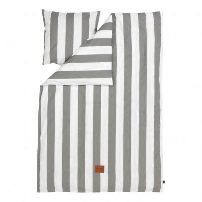 Ferm Living Set de cama Vértigo - Gris - 140x200 cm-product