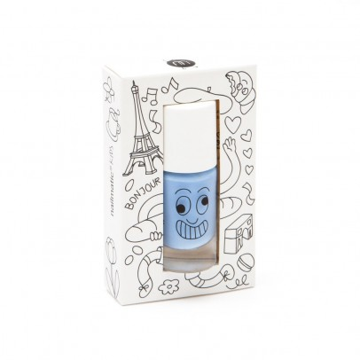 Nailmatic Kids Blue Gaston nail varnish-listing