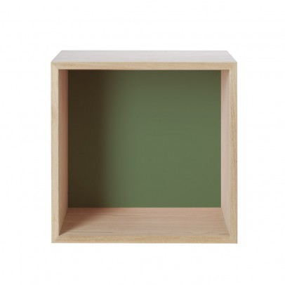 Muuto Beech Storage Module with Back - Medium-listing