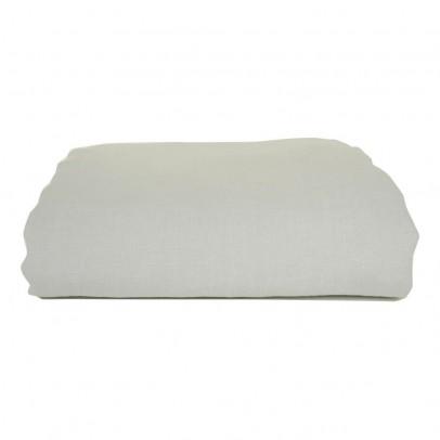 Lab Bettbezug aus Waschleinen-Grau -listing