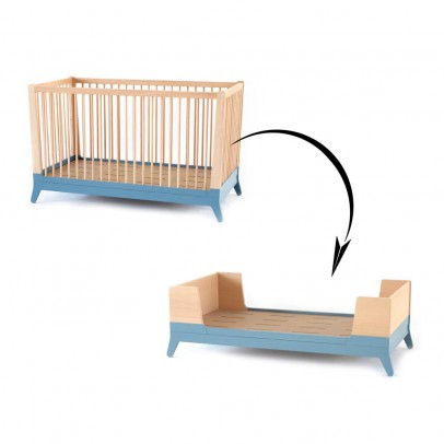 Nobodinoz Mitwachsendes Bett-Set-Blau -listing