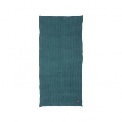 Ferm Living Serviette - Bleu pétrole - 50X100 cm-product