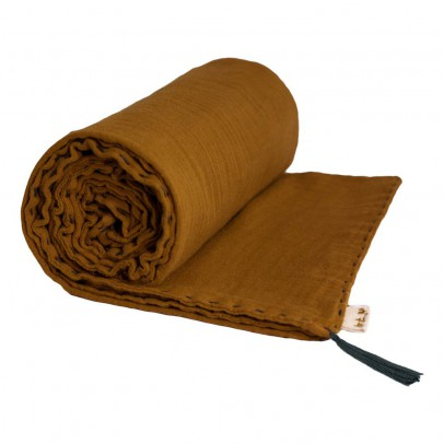 Numero 74 Manta de verano - Amarillo mostaza-product