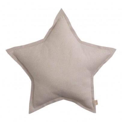 Numero 74 Coussin étoile tulle paillettes - Poudre-listing
