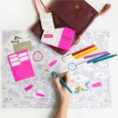 Omy Set 3 mappe tascabili Parigi, Londra, Barcellona e New York-listing