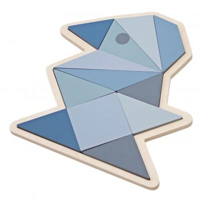 Sebra Puzzle origami oiseau - Blu-listing