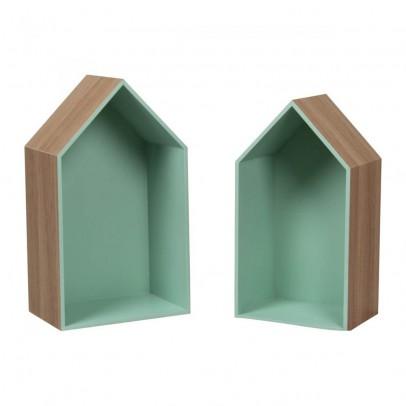 Smallable Home Set de 2 étagères maison-listing