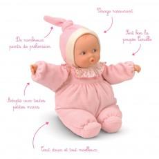 Corolle Babipouce - Muñeca suave a rayas rosa-listing