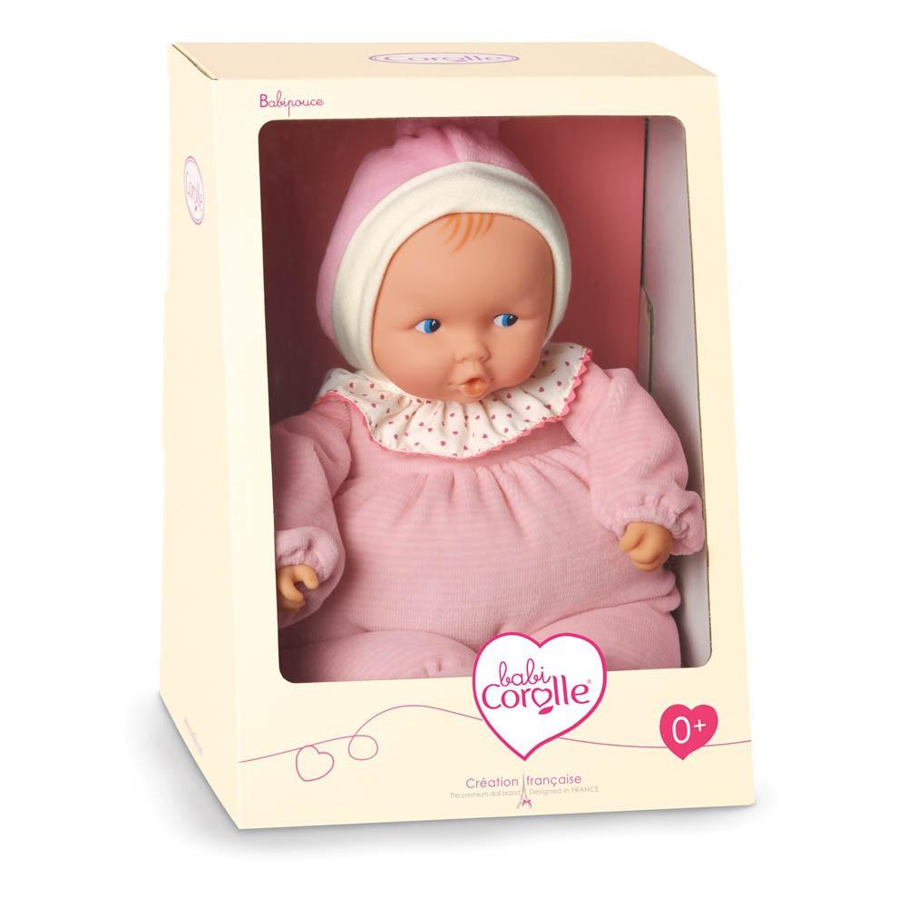 Corolle Babipouce - Muñeca suave a rayas rosa-product