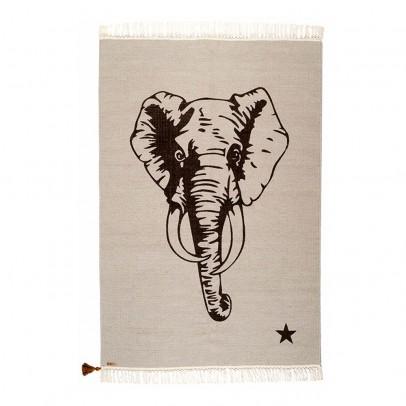 Varanassi Tapis Gypsy en coton - Elephant-listing
