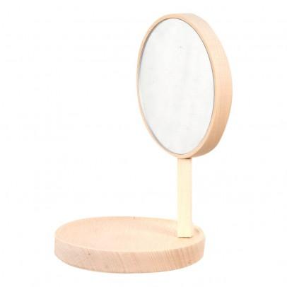 Moustache Etagère-miroir Belvédère en hêtre - Inga Sempé-listing