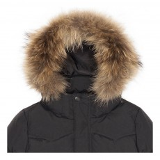 Finger in the nose Snowmoose Fur Down Jacket-product