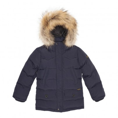 Finger in the nose Snowmoose Fur Down Jacket-listing