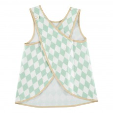Nobodinoz Diamonds Apron Bib-product