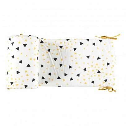 Nobodinoz Bettumrandung Dreieck gelb und schwarz -listing