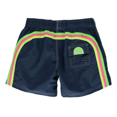 Sundek Plain, Tri-colour Band Swimming Shorts-listing