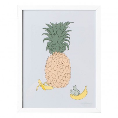 garbo&friends Ananas Poster 30x40 Cm-listing