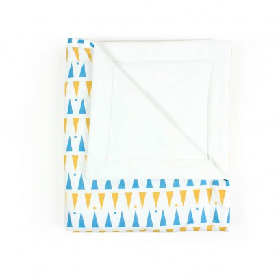 Nobodinoz Yellow and Blue Triangle Quilt-product