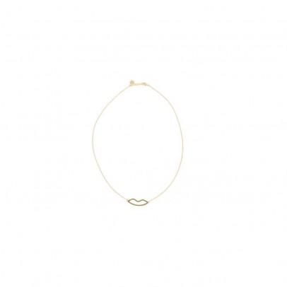 Hophophop Lips Necklace-listing