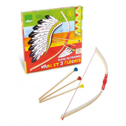 Vilac Bow and Arrow with Target Box-listing