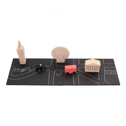 Kiko+ Magnet-Holzspielzeug Machi Londres-listing