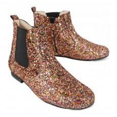 Manuela de Juan  Constance Glitter Ankle Boots-listing