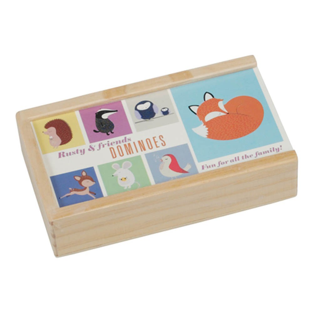 Rex Dominos animaux Rusty and friends-product