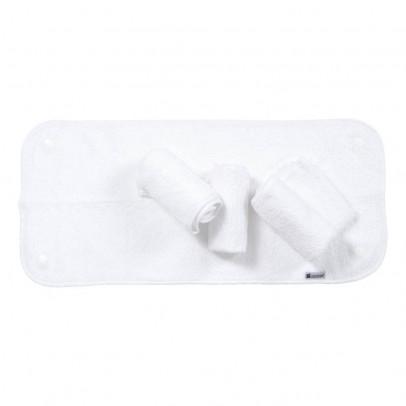 Candide Lot de 4 draps éponges pressionnées 26x58 cm pour matelas à langer-listing